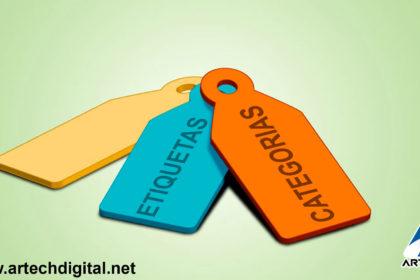 Importancia de las categorías - artech digital