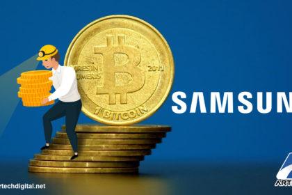 Samsung - mineria de criptomonedas - Artech Digital