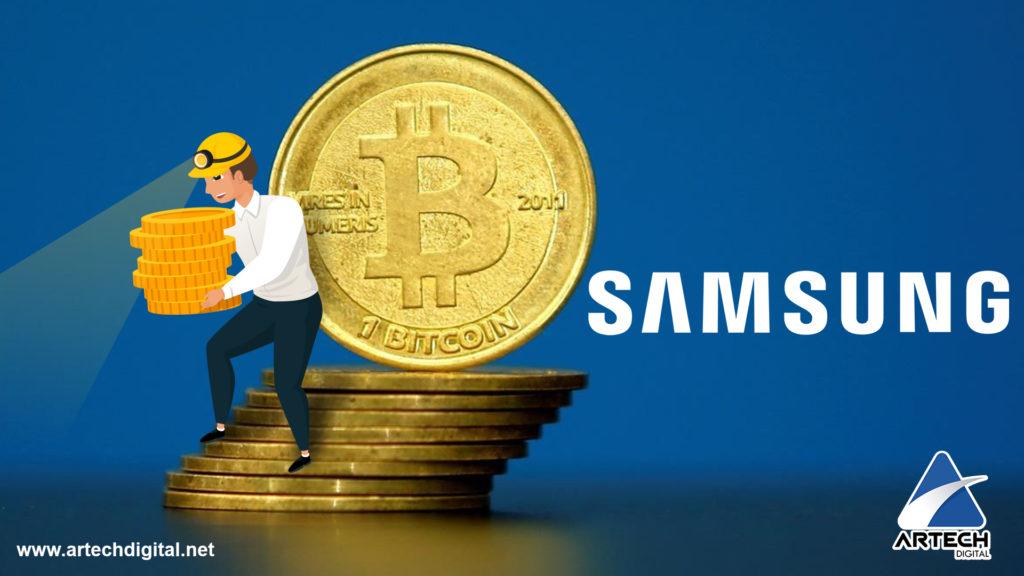 Minería de Criptomonedas - Samsung - Artech Digital