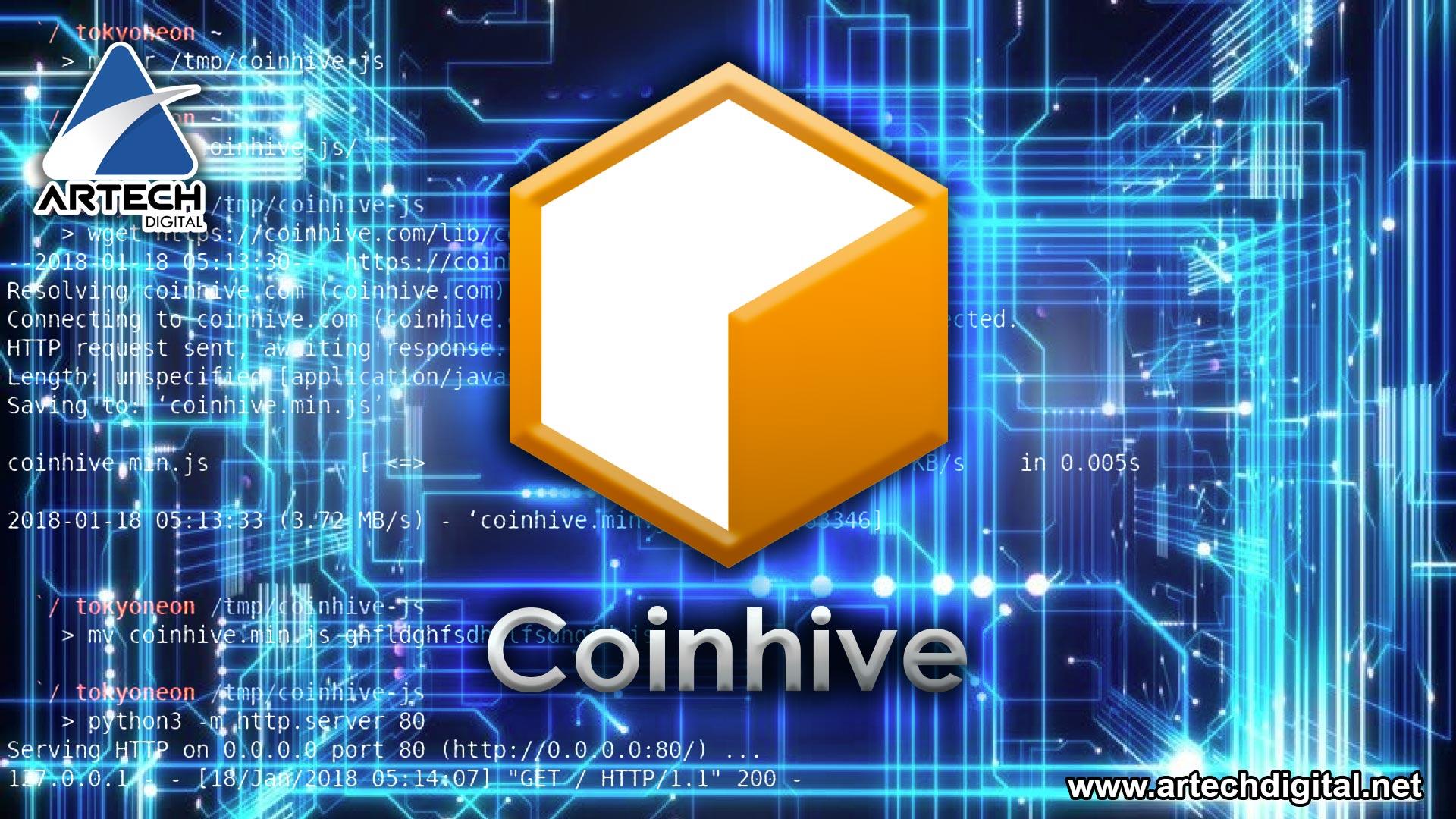 CoinHive el malware más usado para minar criptomonedas