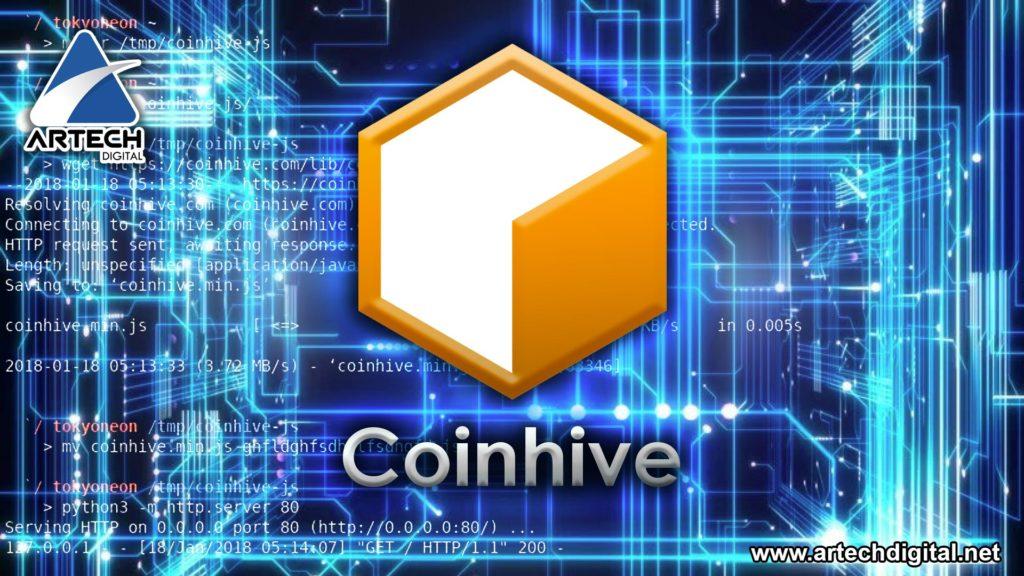 Criptomonedas - Coinhive - Artech Digital