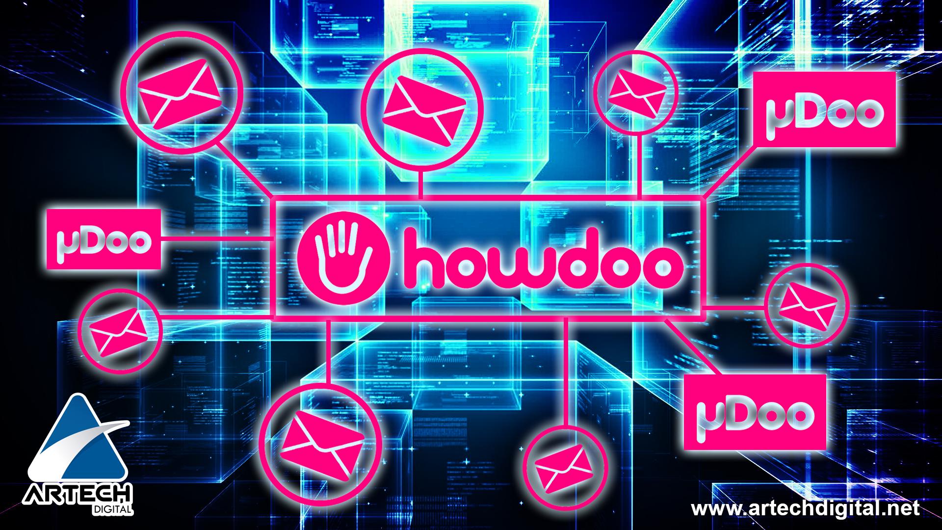 howdoo - red de mensajería - artech digital