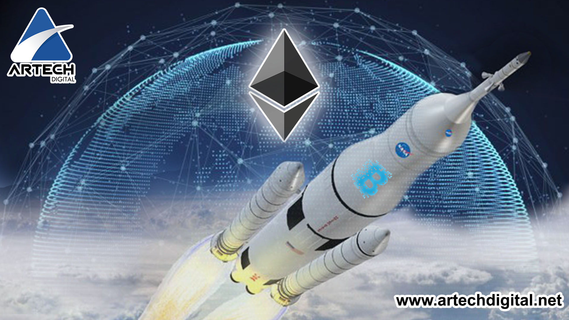 La NASA - naves espaciales - blockchain - artech digital