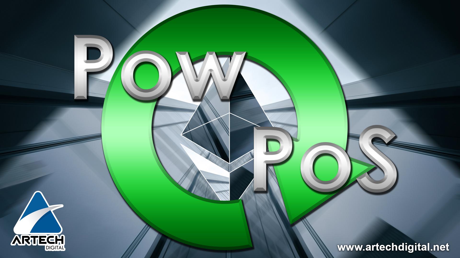 Ethereum hace una transición de la red del PoW a PoS