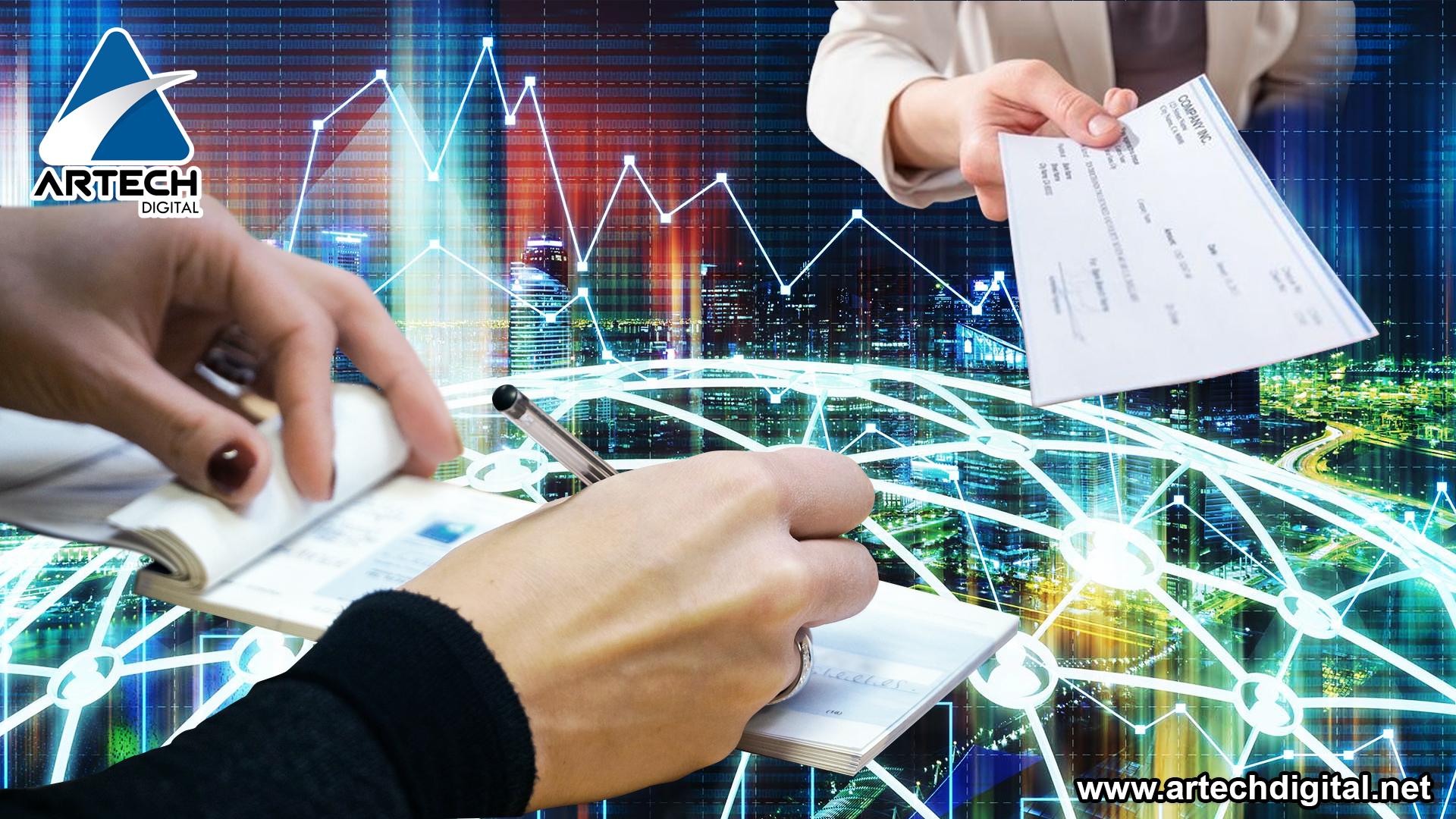 Cheques bancarios - código QR - Artech Digital