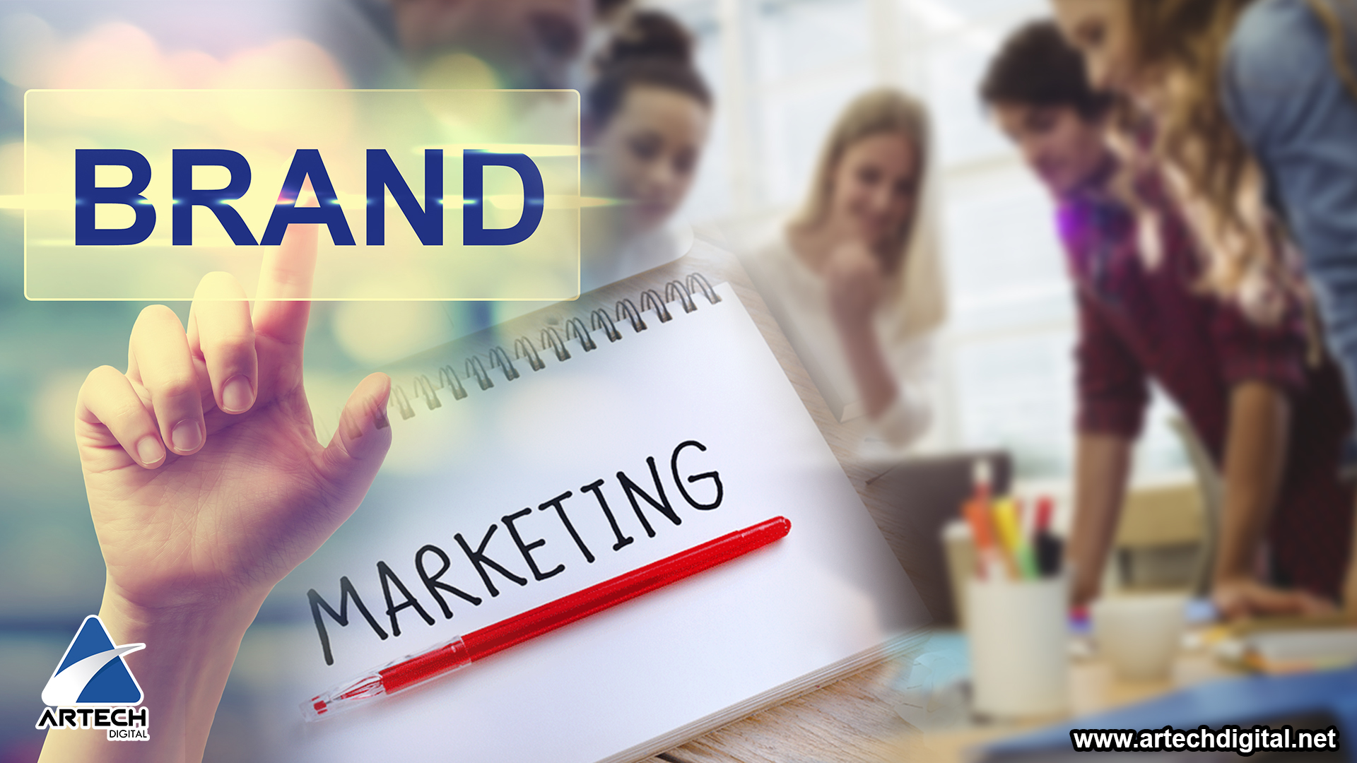 Branding digital - marketing - Artech Digital