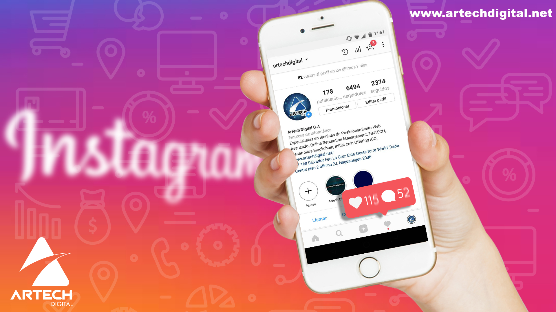 Instagram - Marketing - Artech Digital