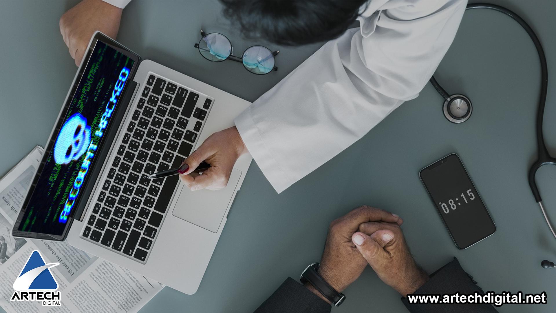 Hackers _ sistema médico _ Artech digital