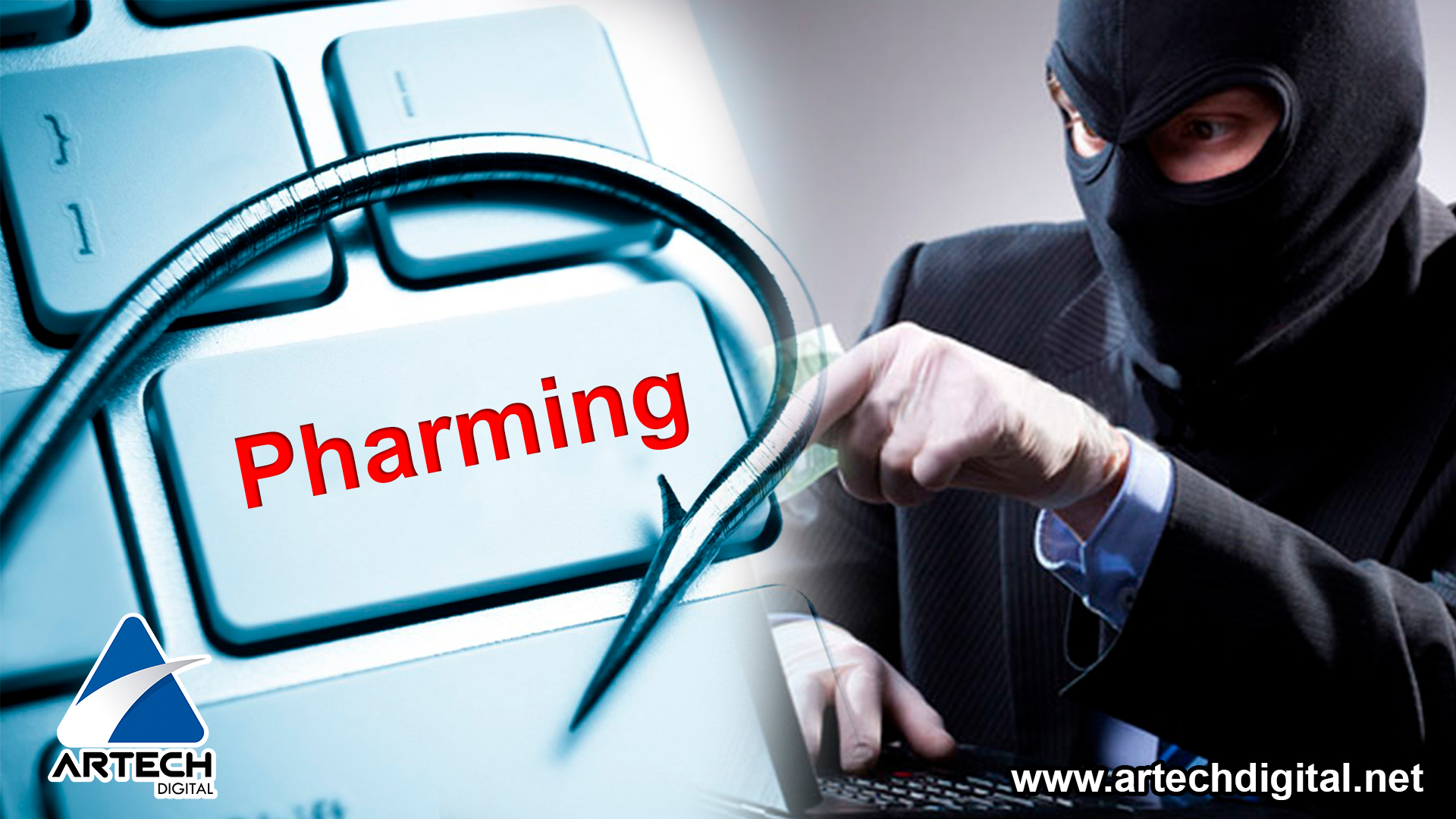 Pharming genera fraudes informáticos a gran escala