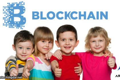 niños _ tecnología _ blockchain _ Artech _ Digital