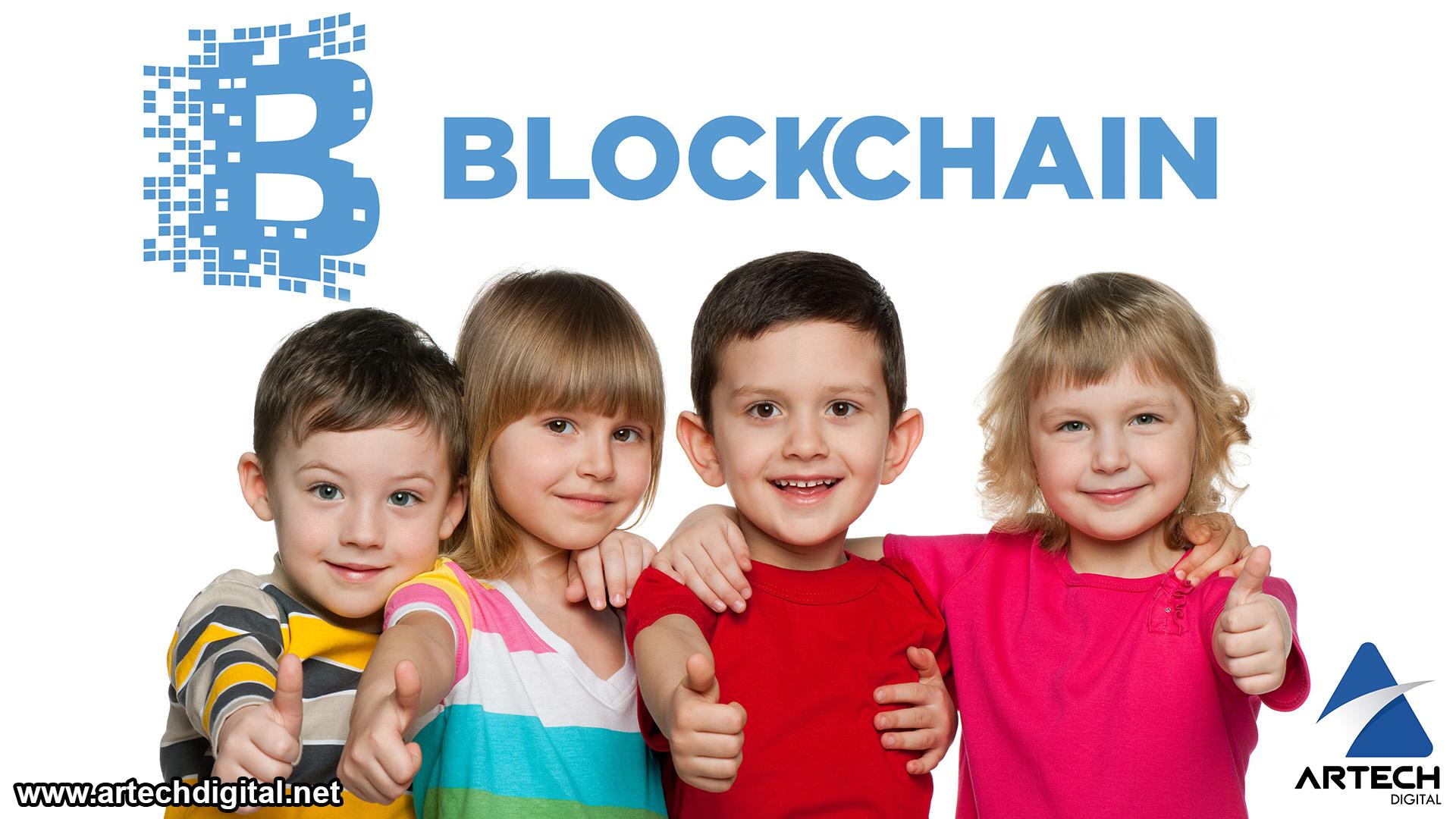 Los niños también pertenecen al mundo de la tecnología Blockchain