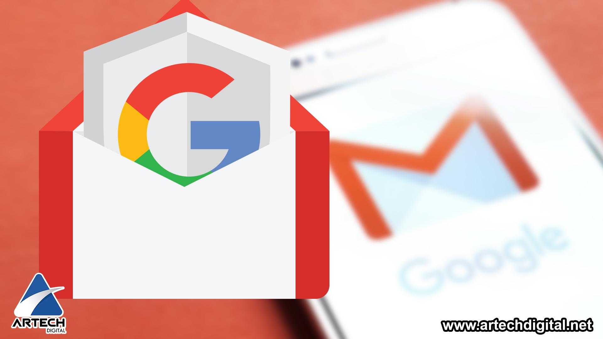 Plataforma Gmail - Artech Digital