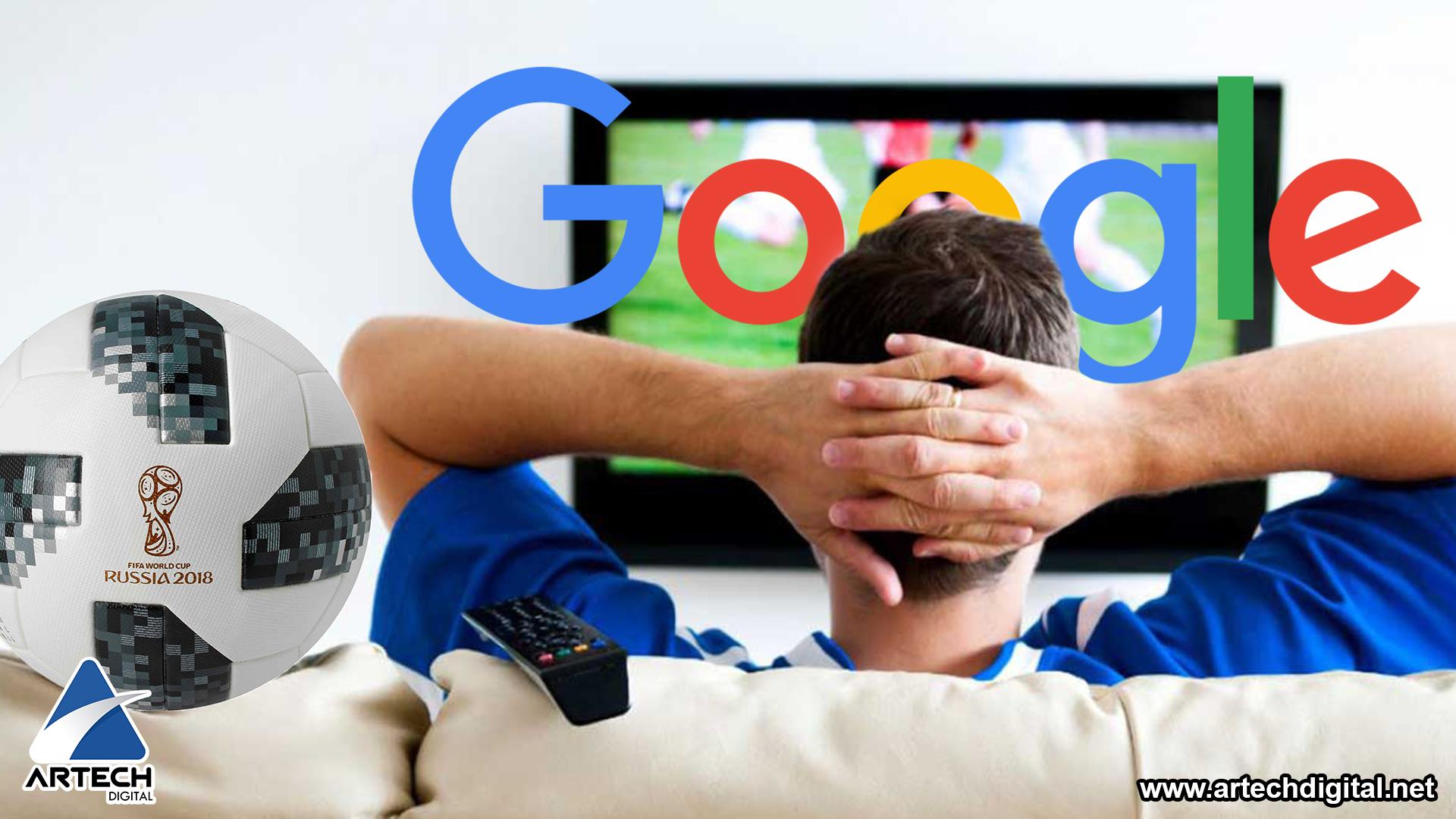 Sigue la fiebre del Mundial Rusia 2018 con Google