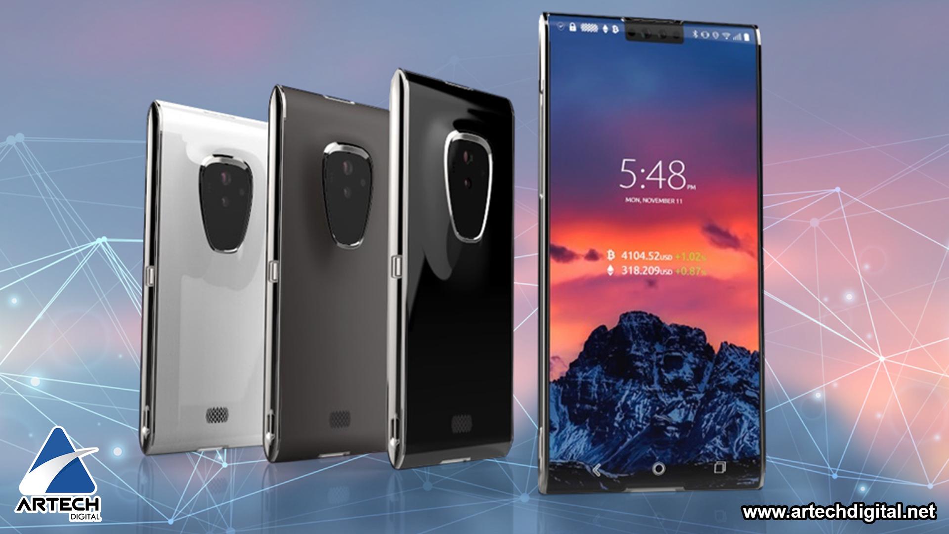 Finney, el nuevo y primer smartphone basado en la tecnología Blockchain