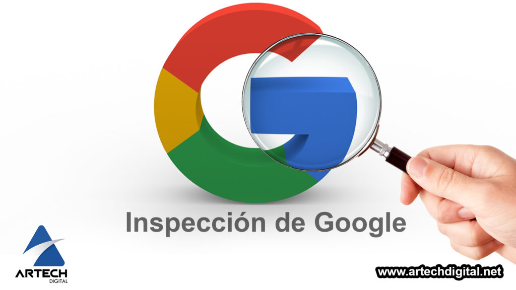 Artech Digital - Google Search Console -Inspección de URL