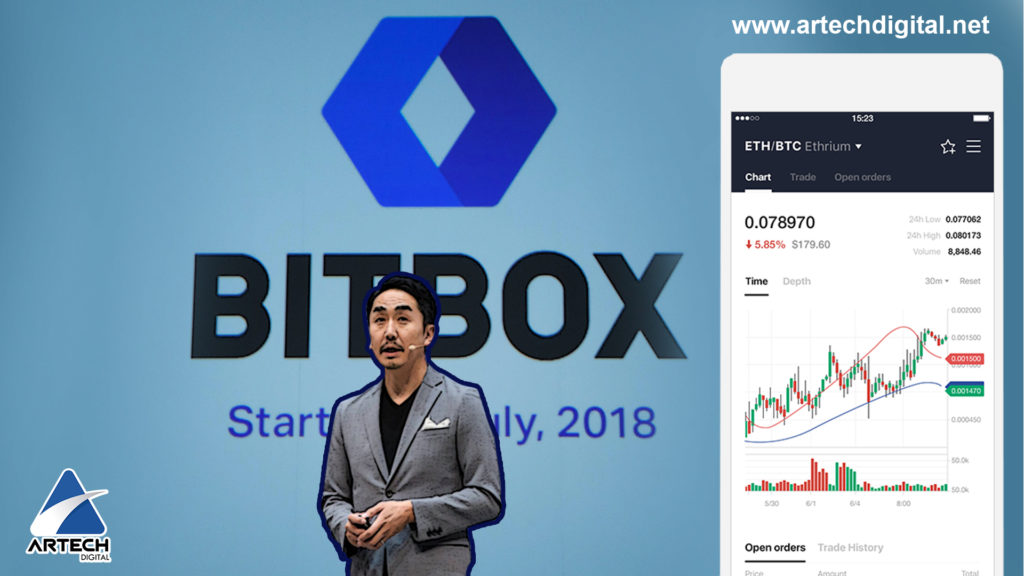 Exchange - BITBOX - LINE - Artech Digital