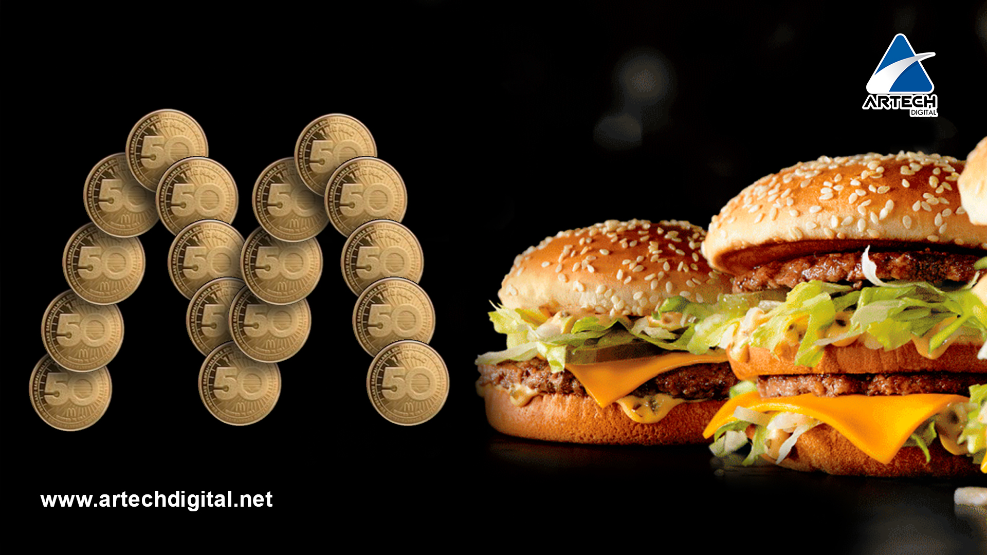 "McDonald's presenta su moneda ""MacCoin"" en honor a su gran ""Big Mac"""