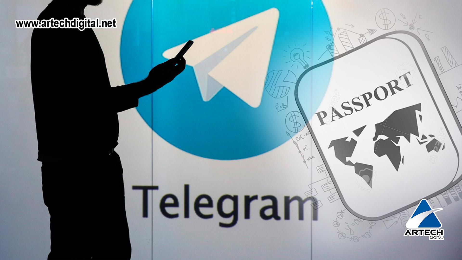 "Telegram, lanza su nueva herramienta ""Pasaporte Telegram"""