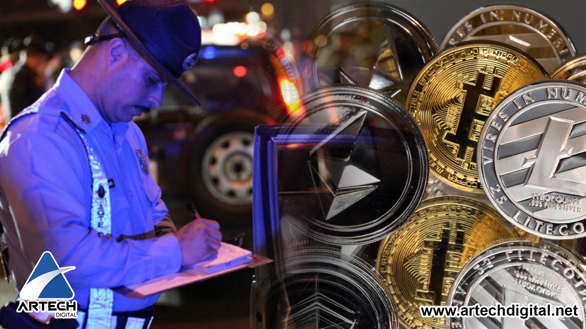 Al infringir la ley de tránsito, se empezaran a incautar las Criptomonedas en Japón