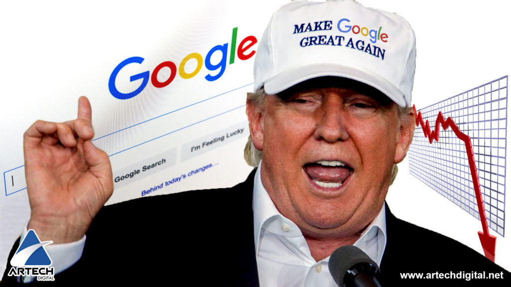 donald trump-reputacion en internet