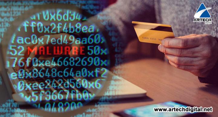 información bancaria - Dark tequila - artech digital