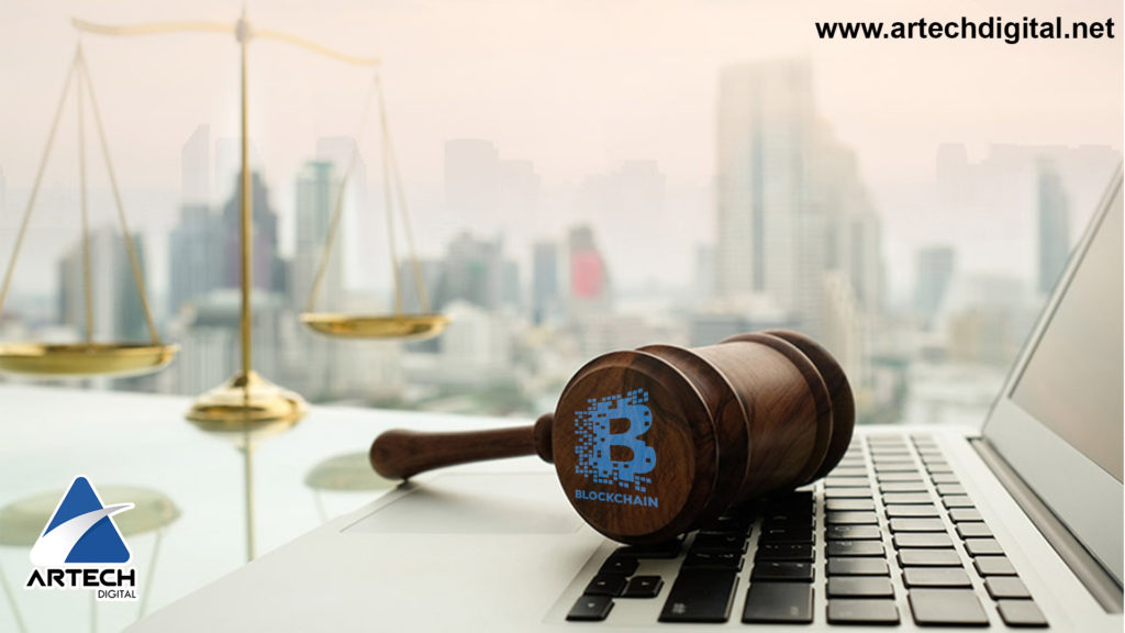 Corte Blockchain - Corte legal - Artech Digital