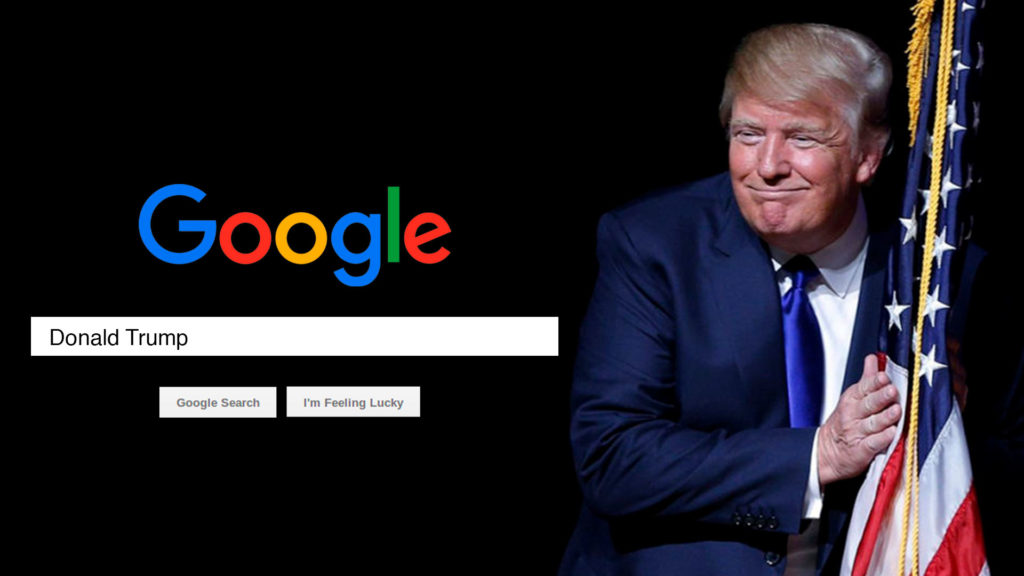 Donald trump-google-reputacion en internet
