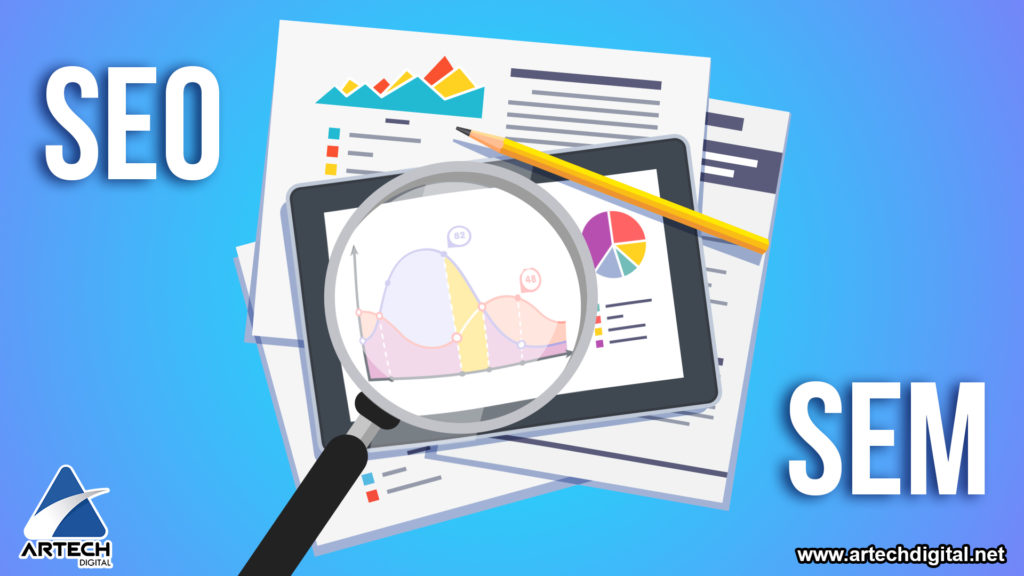 Marketing Digital - SEM - Artech Digital