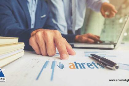 Ahrefs - SEO Negativo - Artech Digital