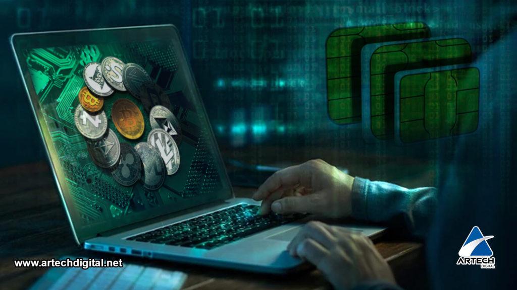 Robo de Criptomonedas - Tarjetas SIM - Artech Digital