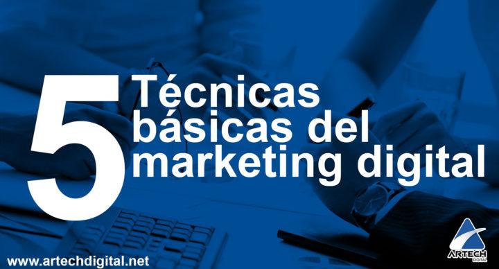 Técnicas básicas - Artech Digital