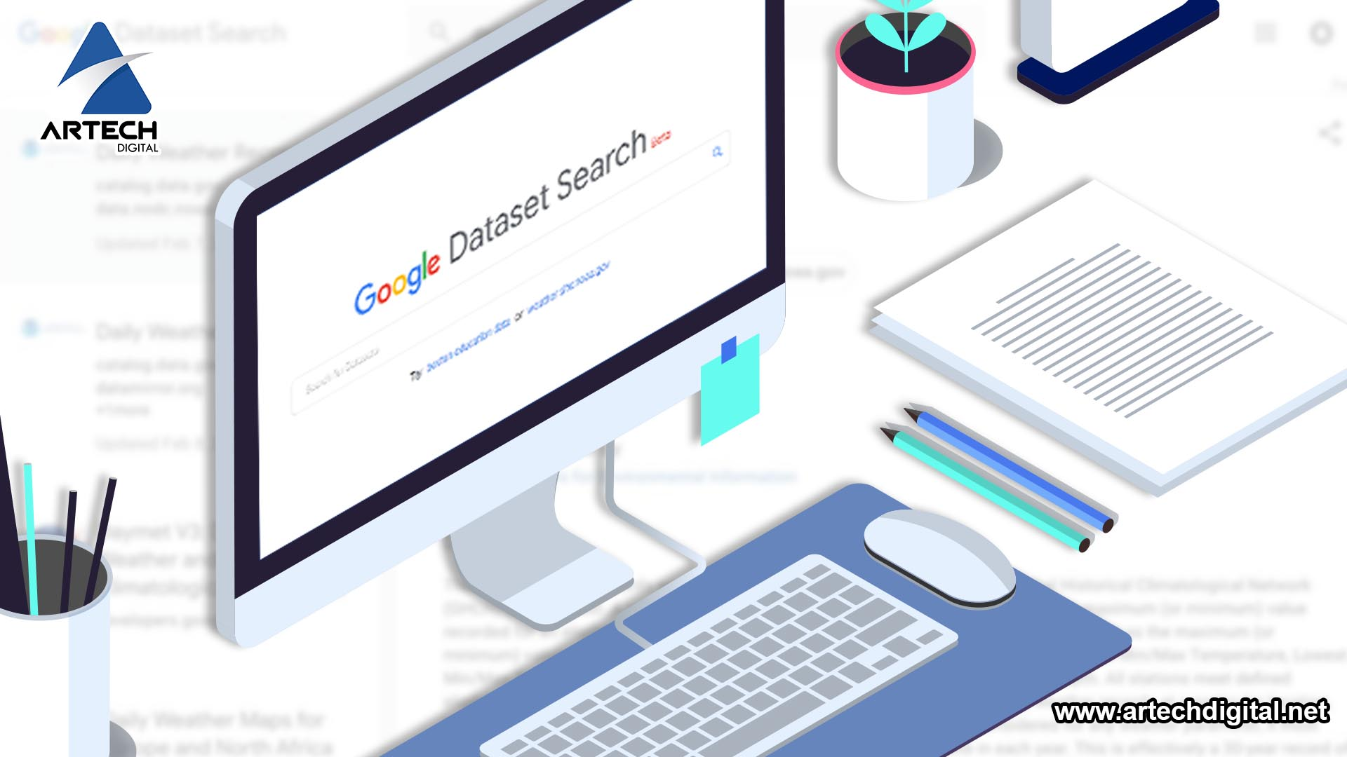 Dataset Search - Artech Digital