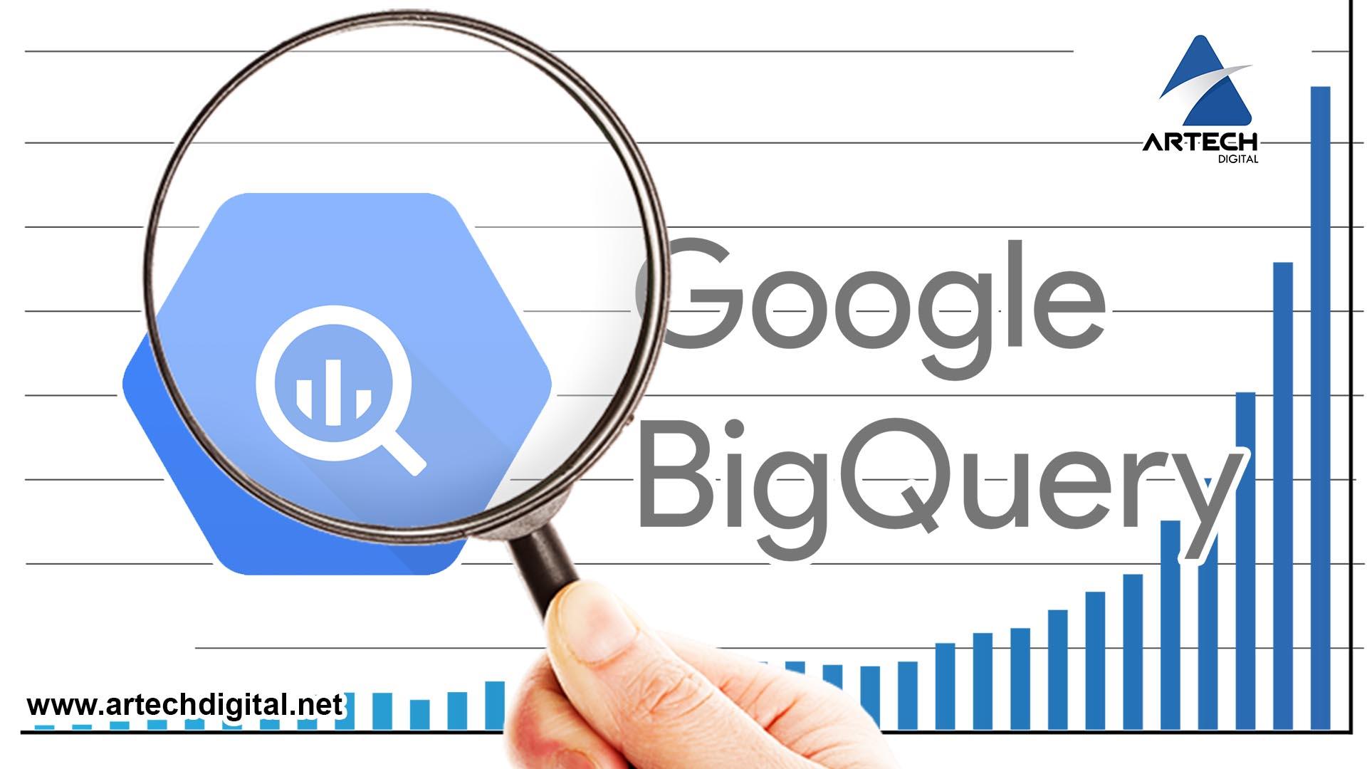 BigQuery - Google con ethereum - Artech Digital