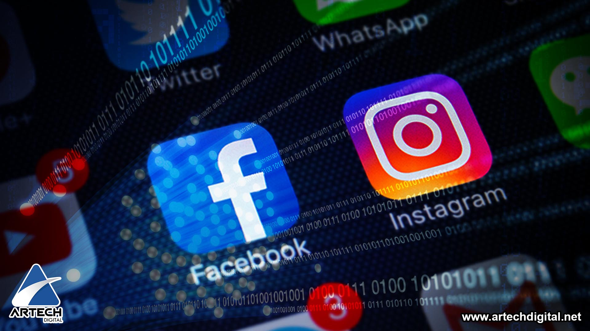 Facebook e Instagram - Artech Digital