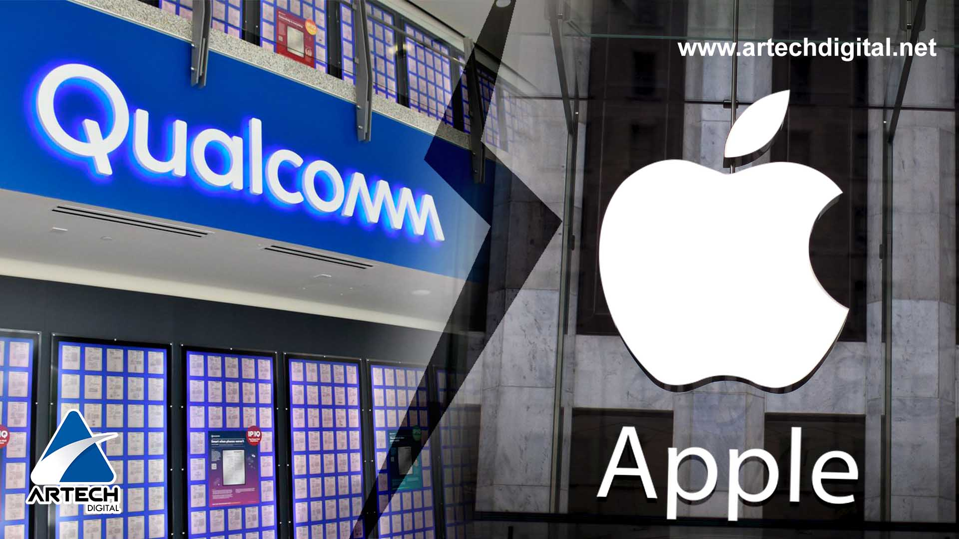 Qualcomm responsabiliza a Apple de distribuir información secreta a Intel