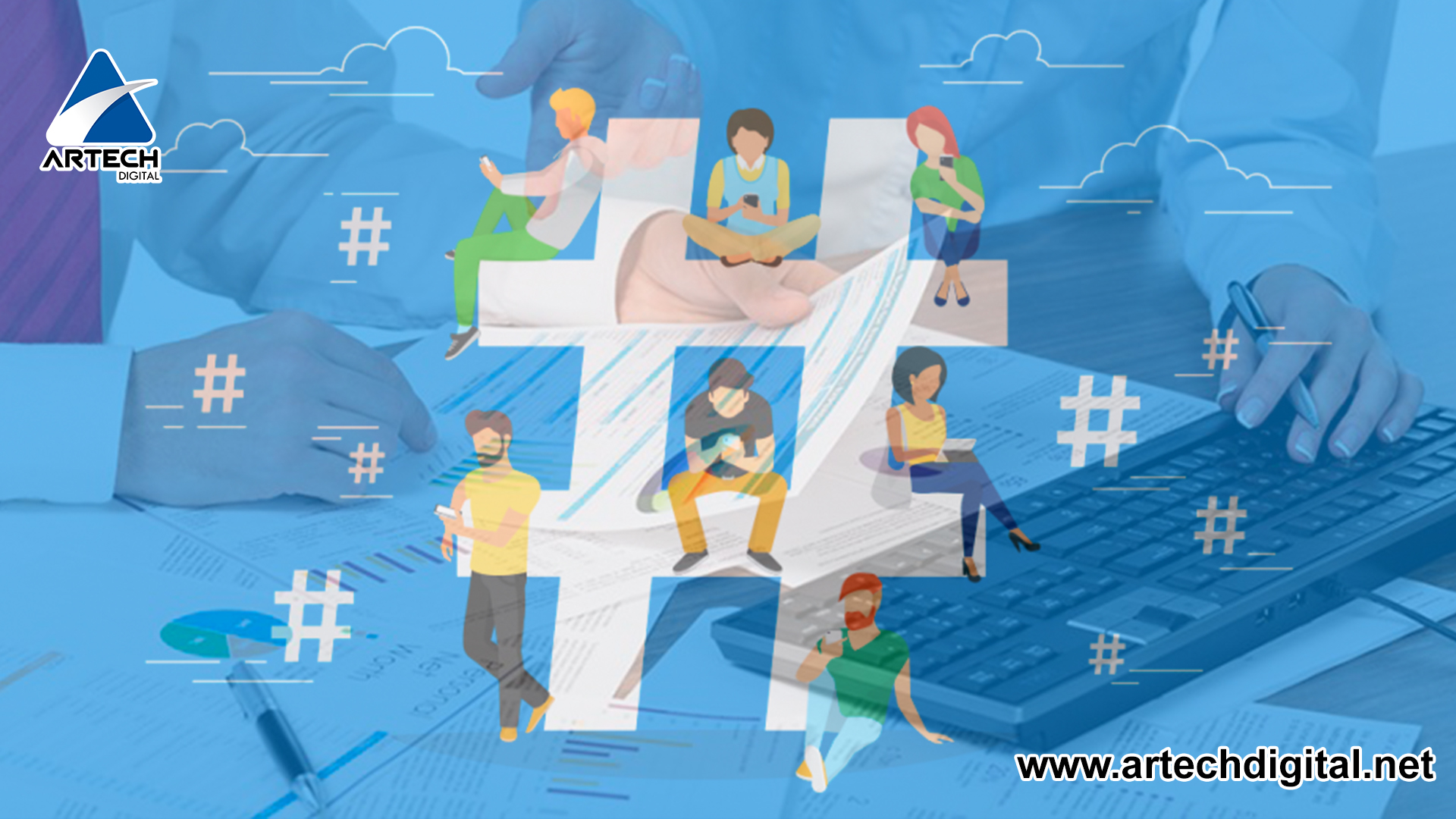 Hashtag on Social Networks improves your marketing strategy