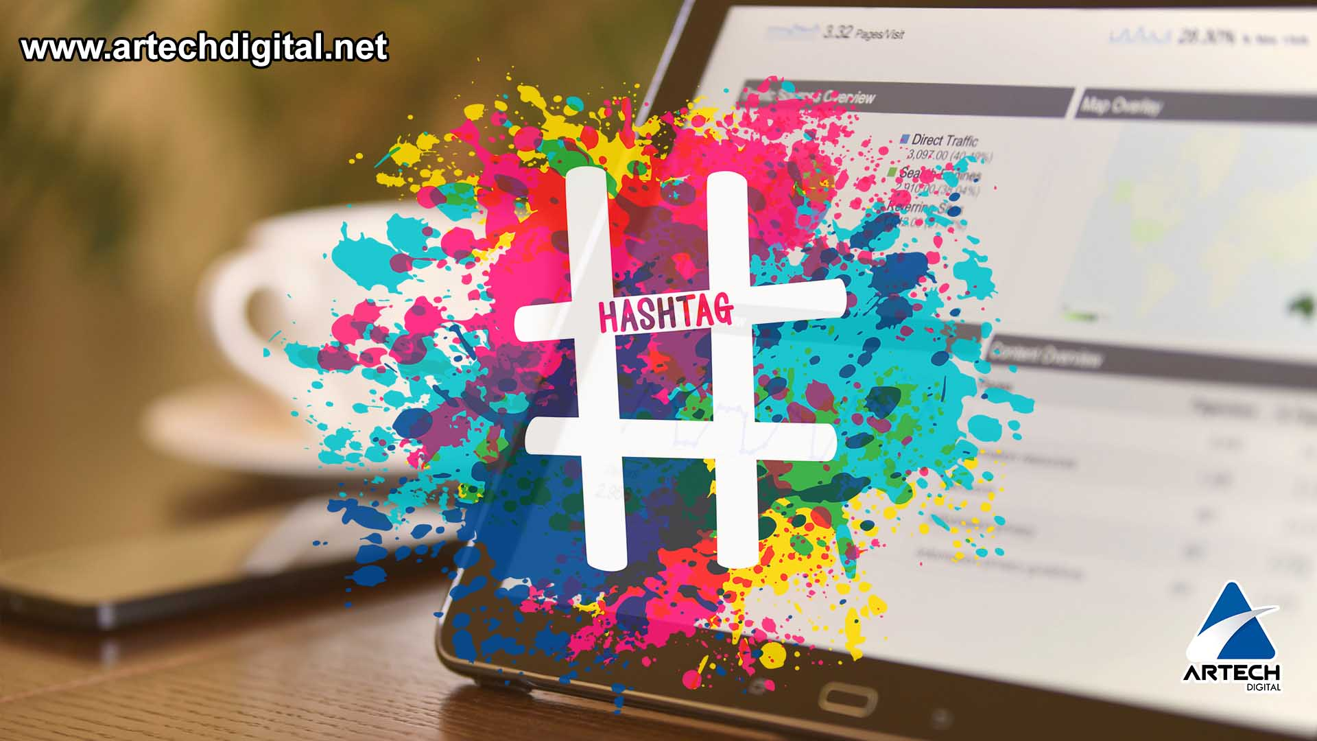 Artech Digital - hashtag on social networks