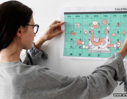 Calendario editorial - Artech Digital
