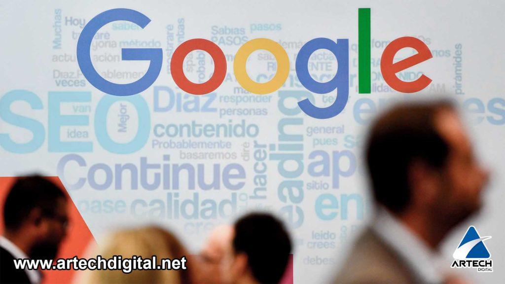 Posicionamiento en Google - Artech Digital
