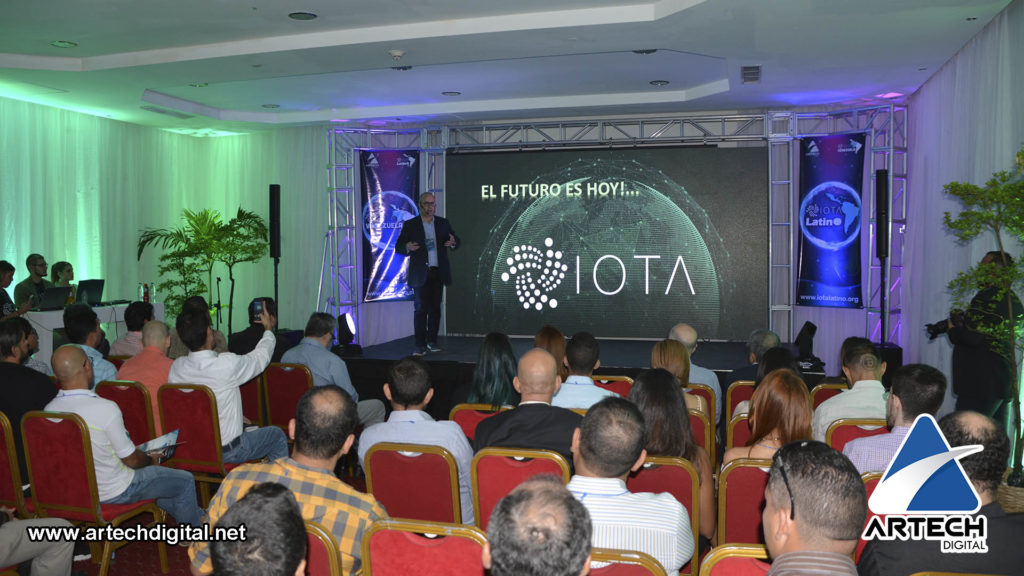 primer Meetup de IOTA Latino - artech digital