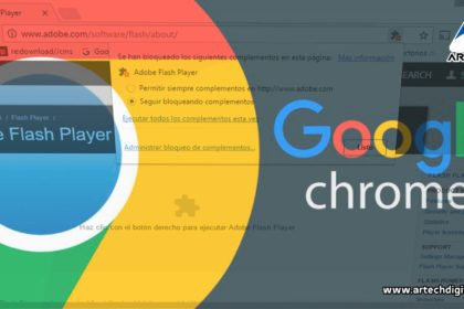 Flash en Chrome - Artech Digital