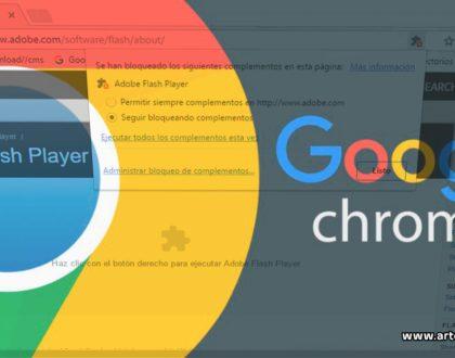 Flash in Chrome- Artech Digital