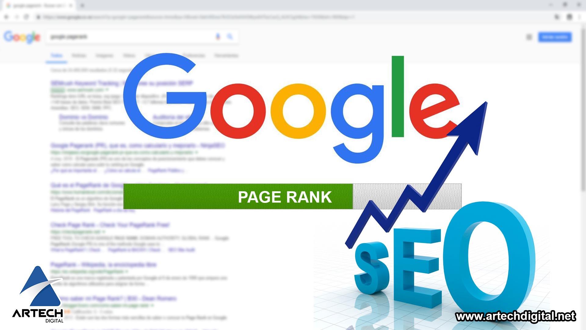 Artech Digital - Google Pagerank