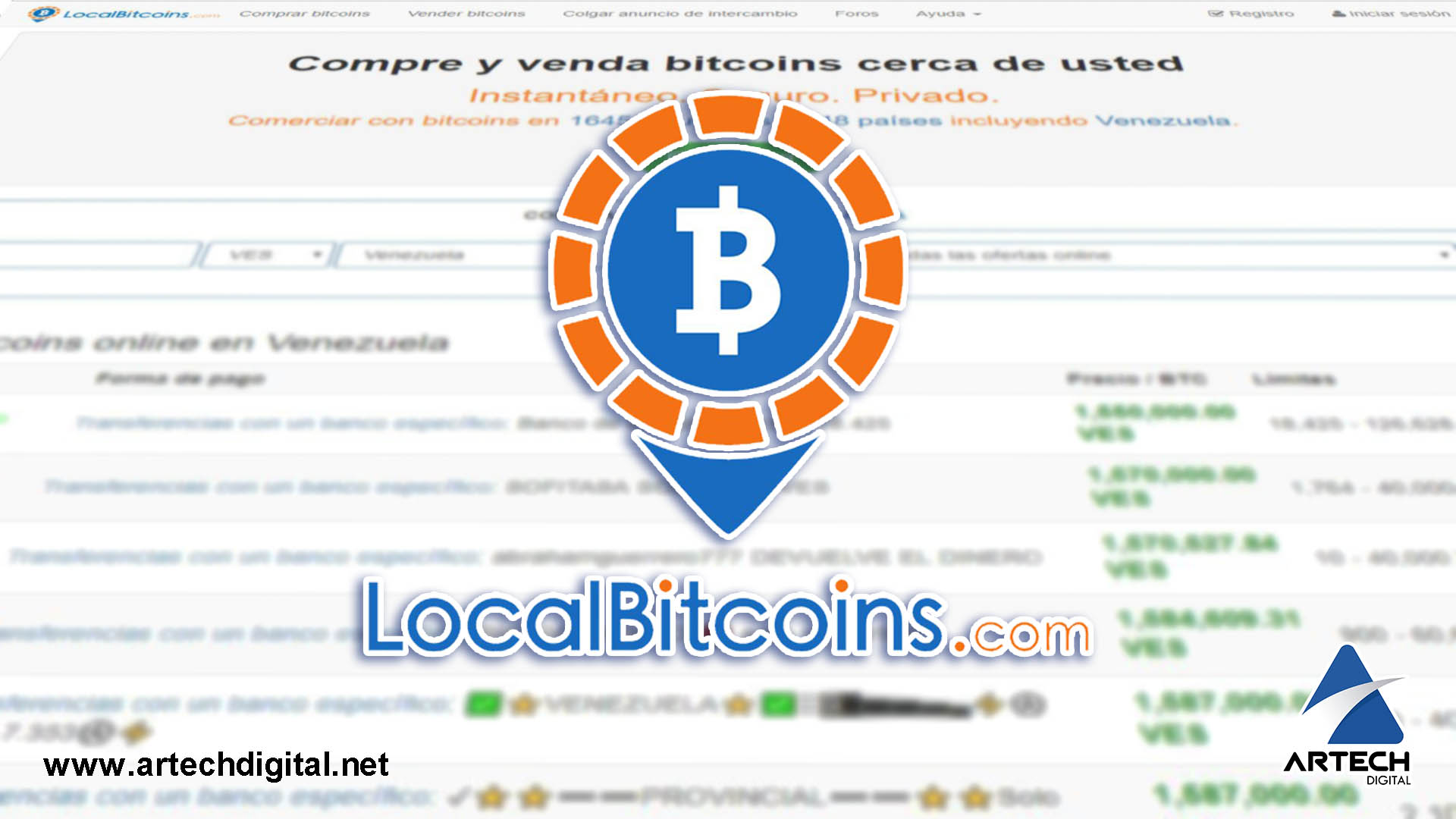 Artech Digital - LocalBitcoins