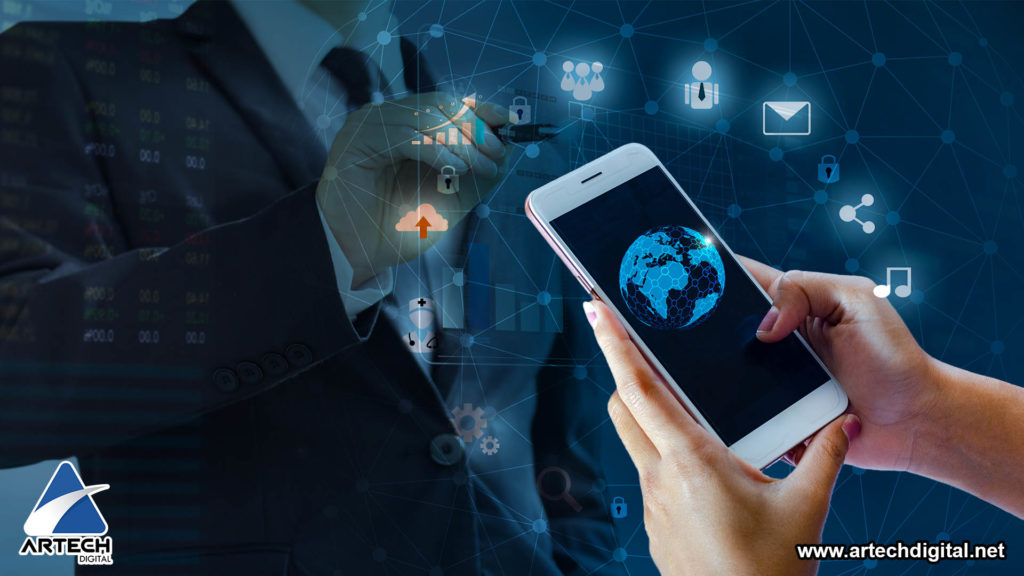 Smartphone and Digital Marketing - Artech Digital