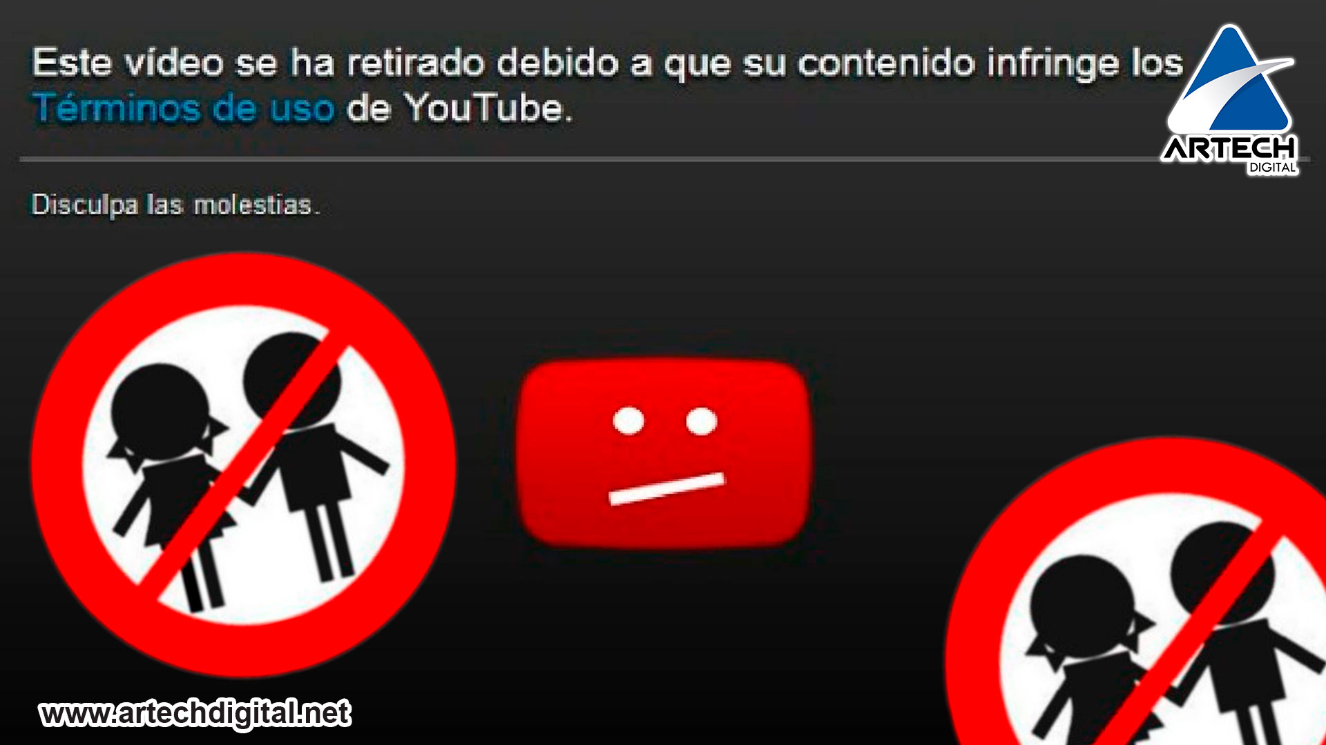 Threats on YouTube - artech digital