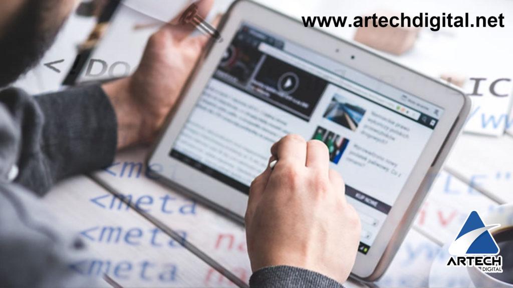 optimizar tu web - artech digital