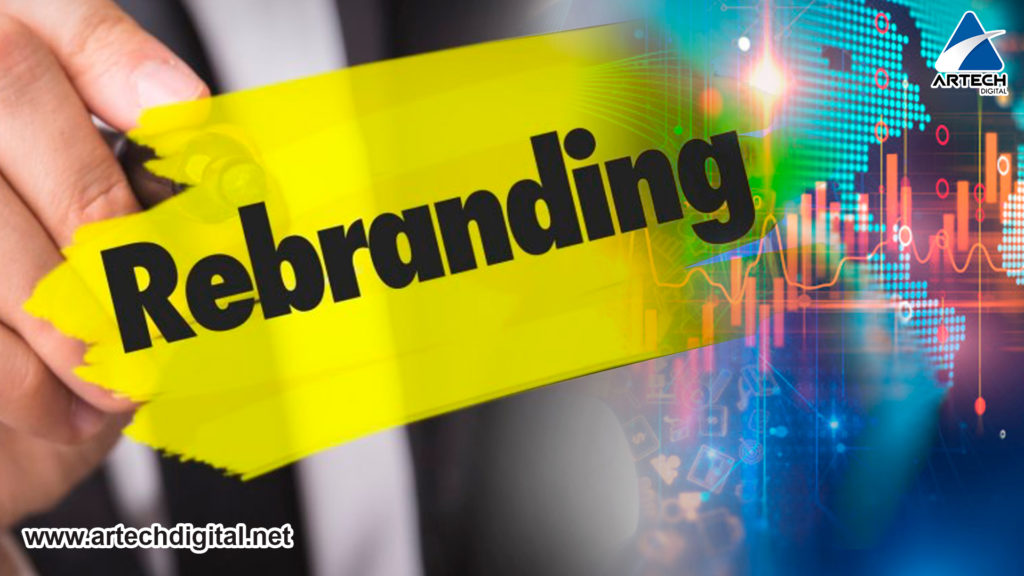 artech digital - rebranding