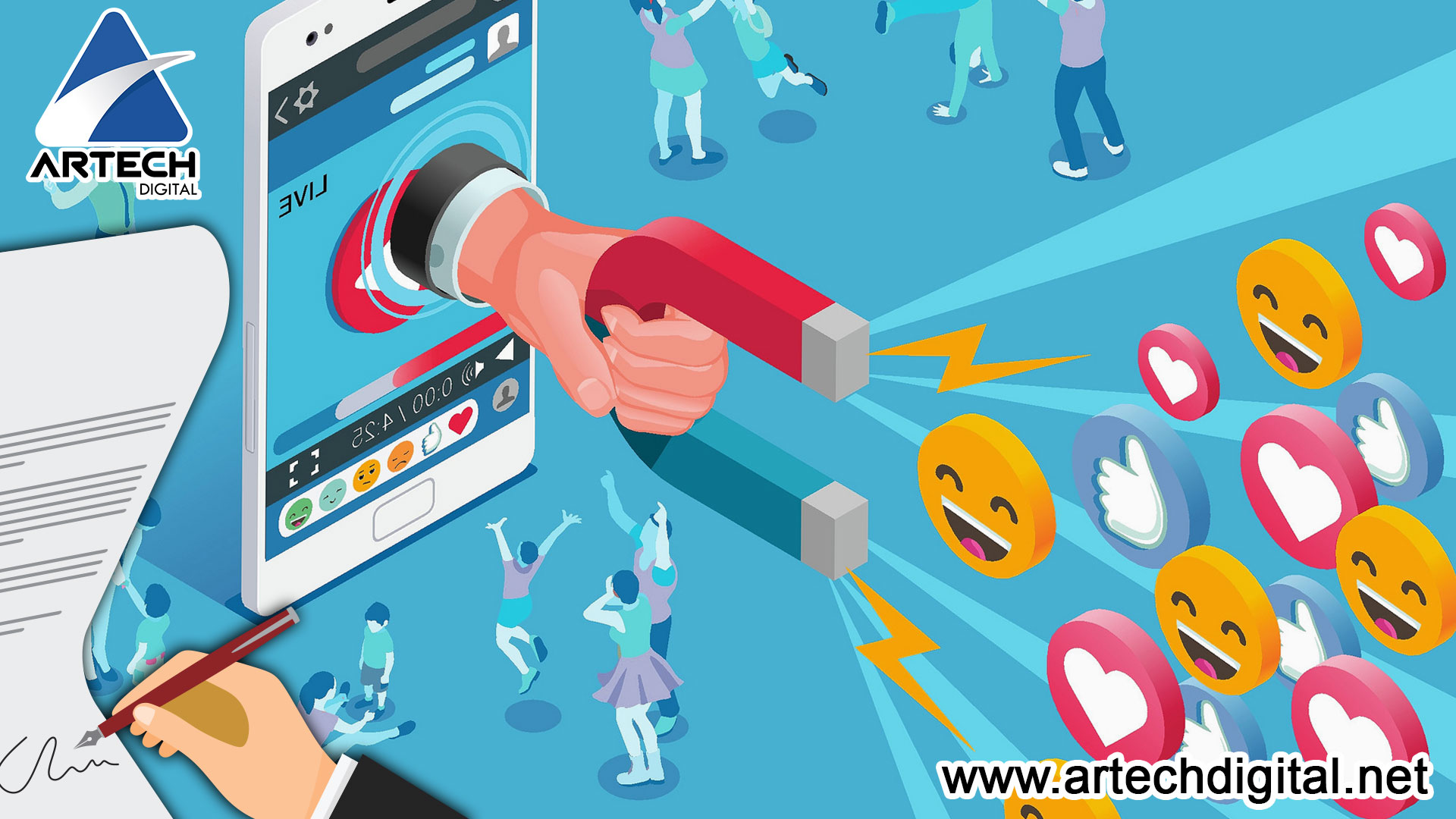 Artech Digital - Tips-influencers-marketing-campaign