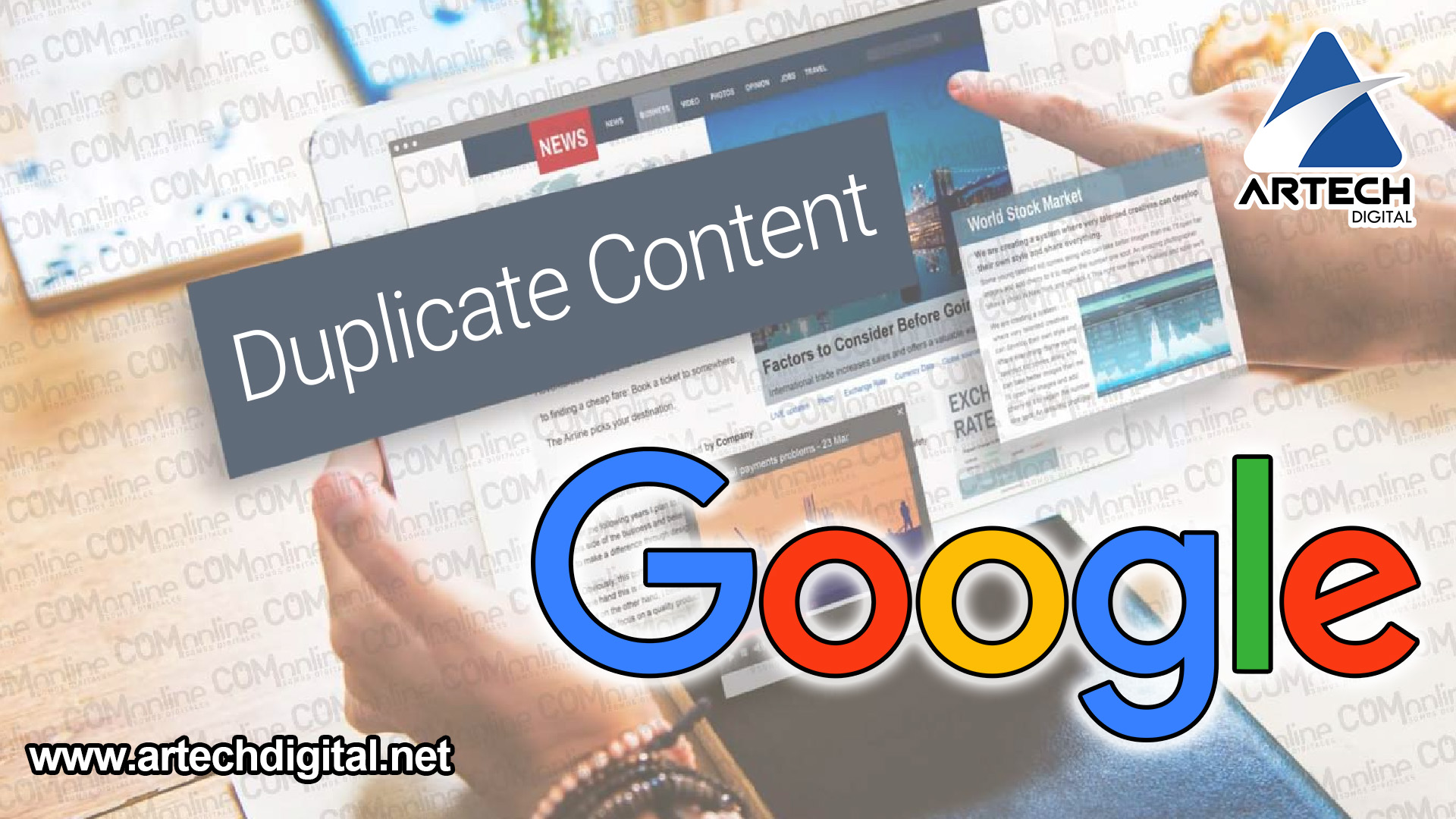 duplicated-content-web-seo - Artech Digital